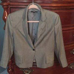 Soft Gray Hugo Boss Blazer